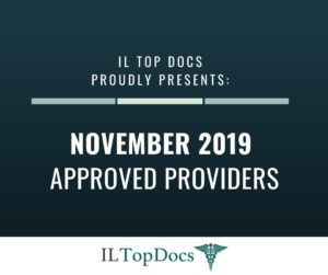 IL Top Docs Proudly Presents November 2019 Approved Providers